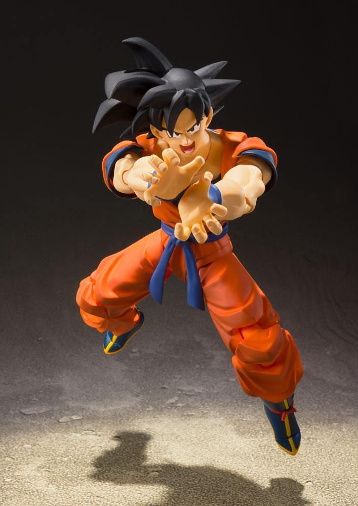 Dragonball Z S.H. Figuarts Action Figure Son Goku (A Saiyan Raised On Earth) 14 cm