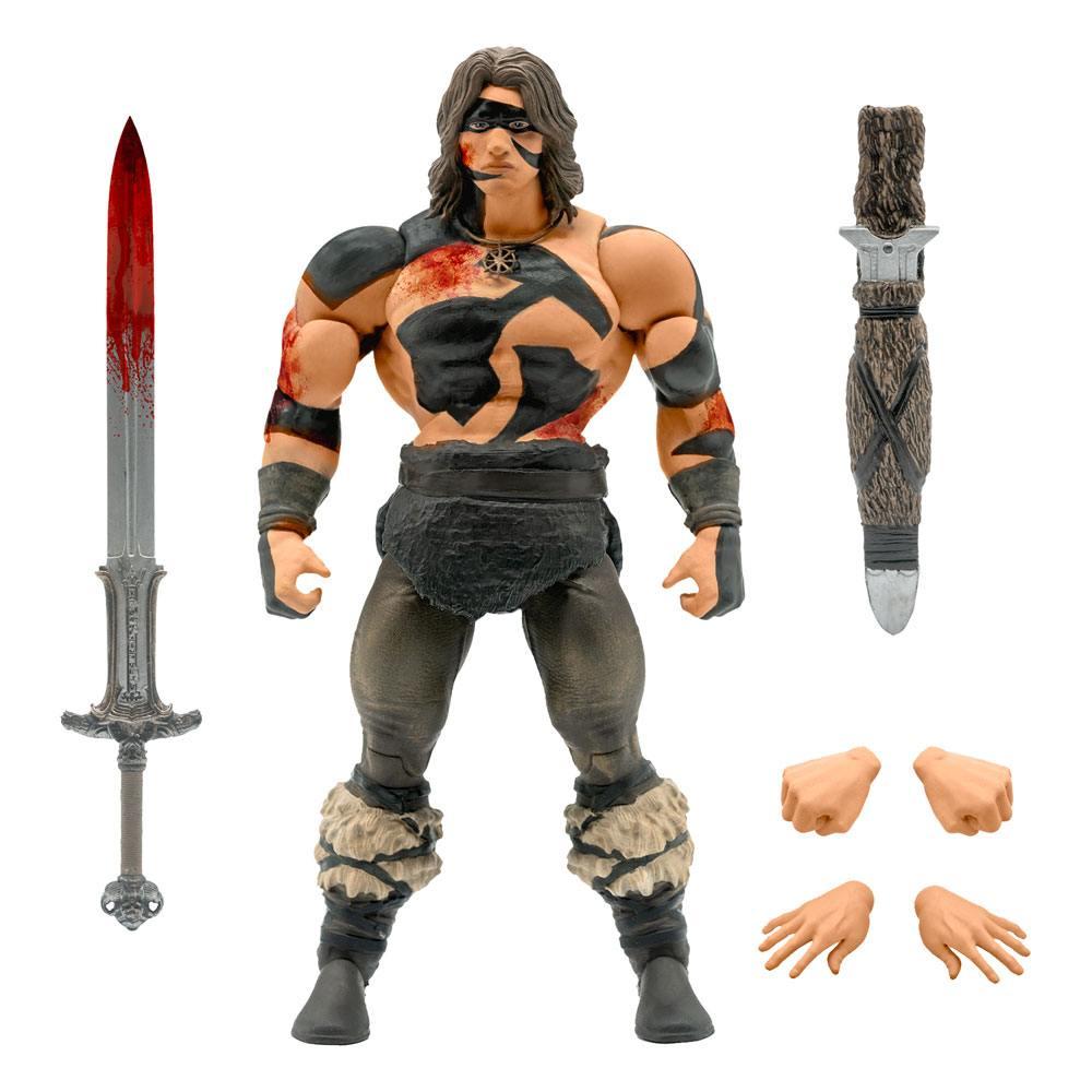 Conan the Barbarian Ultimates Action Figure Conan War Paint Conan 18 cm
