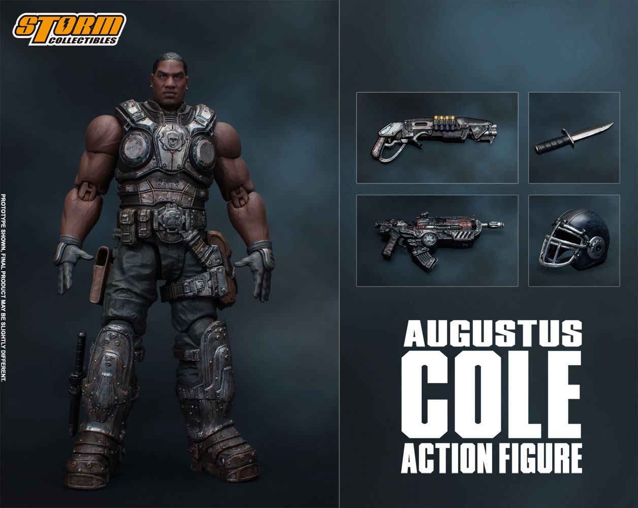 Gears of War 5 Action Figure 1/12 Augustus Cole 16 cm