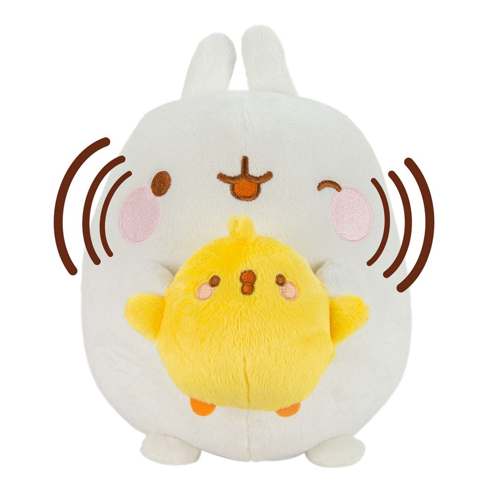 Molang Talk and Sing Plush Figure Molang & Piu Piu 25 cm