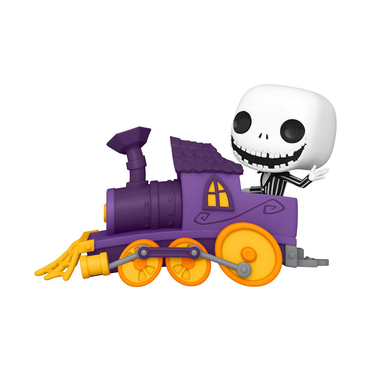 Nightmare before Christmas POP! Disney Train Engine Vinyl Figure Jack in Train Engine 9 cm
