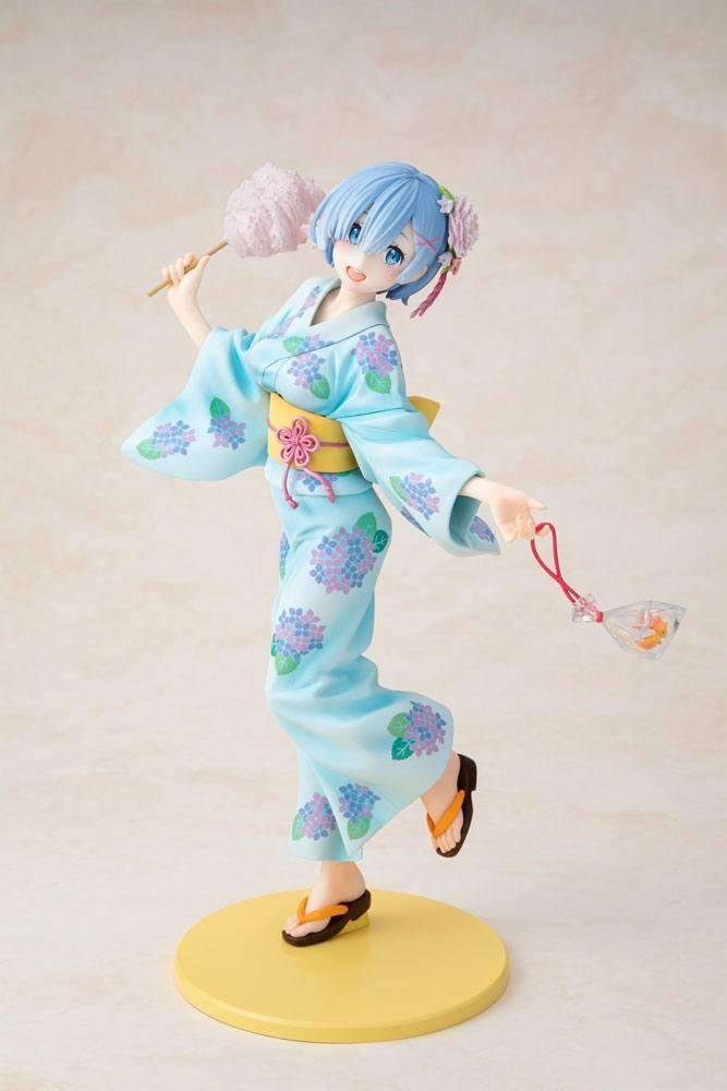 Re:ZERO -Starting Life in Another World- PVC Statue 1/8 Rem Yukata Ver. Repaint 23 cm