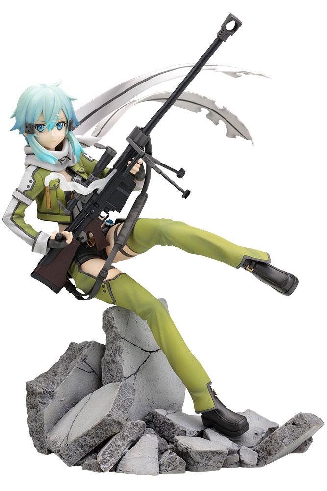 Sword Art Online II Ani Statue 1/8 Sinon Phantom Bullet 23 cm