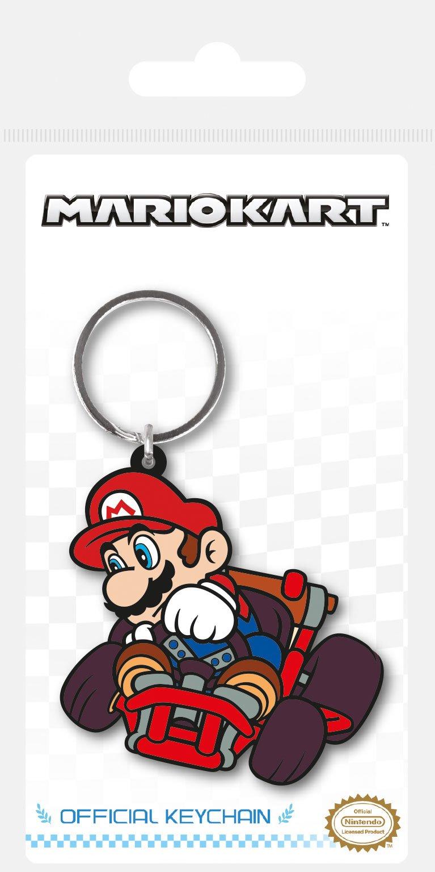Mario Kart Rubber Keychain Drift 6 cm