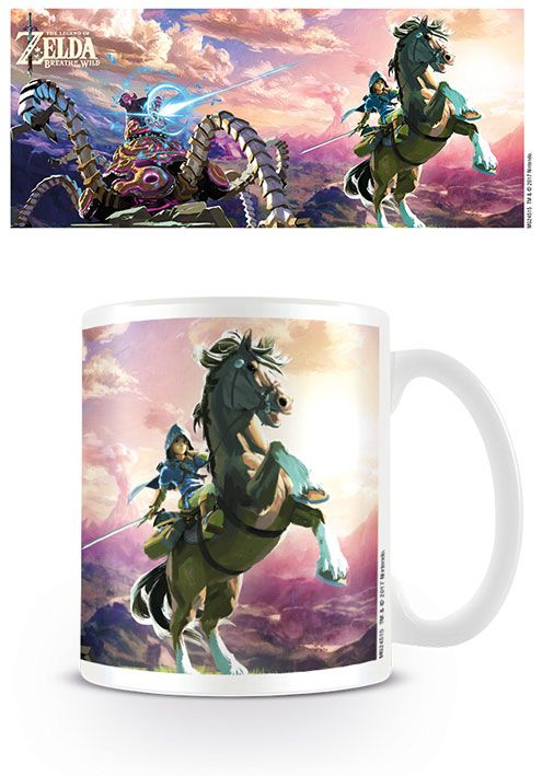 Legend of Zelda Breath of the Wild Mug Guardian Chase