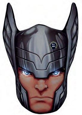 Marvel Comics LED Pillow Thor 36 cm