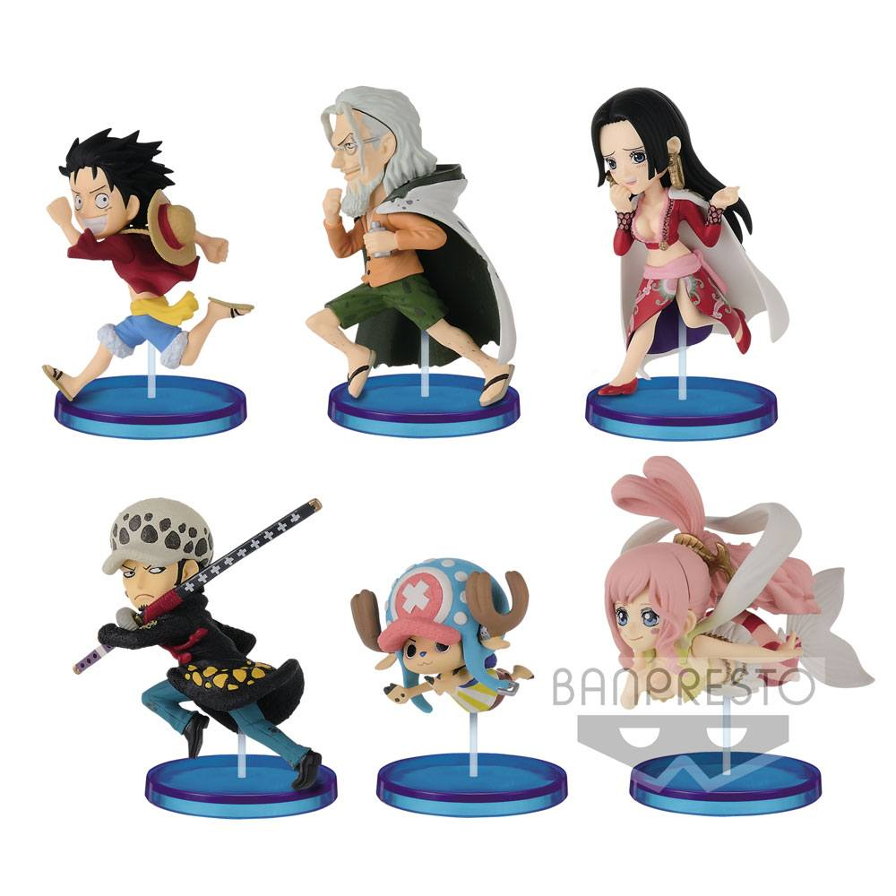 One Piece WCF ChiBi Figures 7 cm Assortment History Relay 20th Vol. 4 (28)