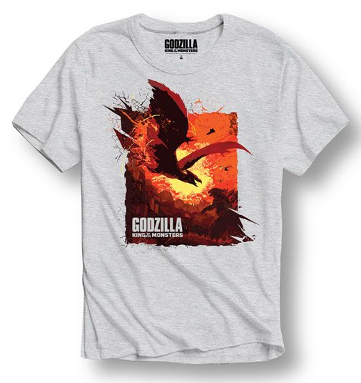 Godzilla T-Shirt Dragon Size XL