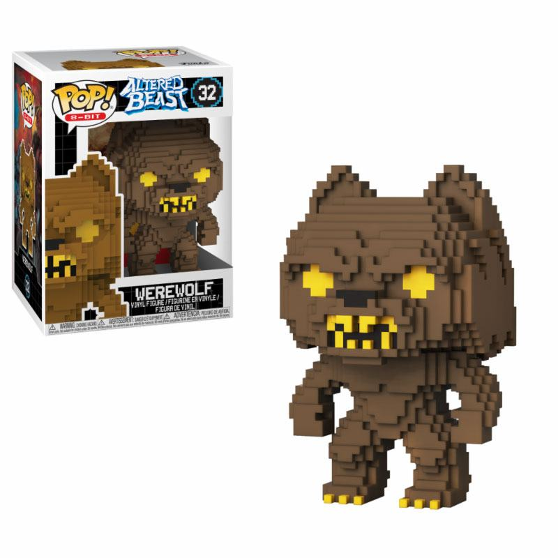 Altered Beast POP! 8-Bit Vinyl Figure Greek Warrior (Werewolf) 9 cm