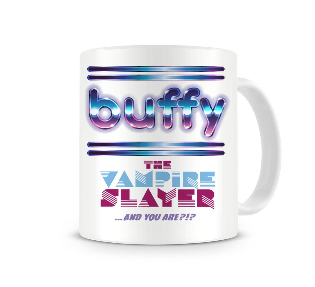 Buffy the Vampire Slayer Mug Retro TV