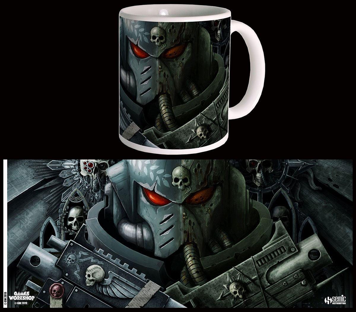 Warhammer 40K Mug Frontispiece