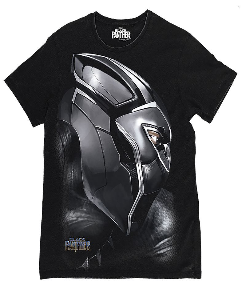 Black Panther T-Shirt The Side Size S