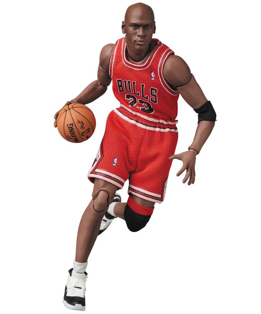 NBA MAF EX Action Figure Michael Jordan (Chicago Bulls) 17 cm