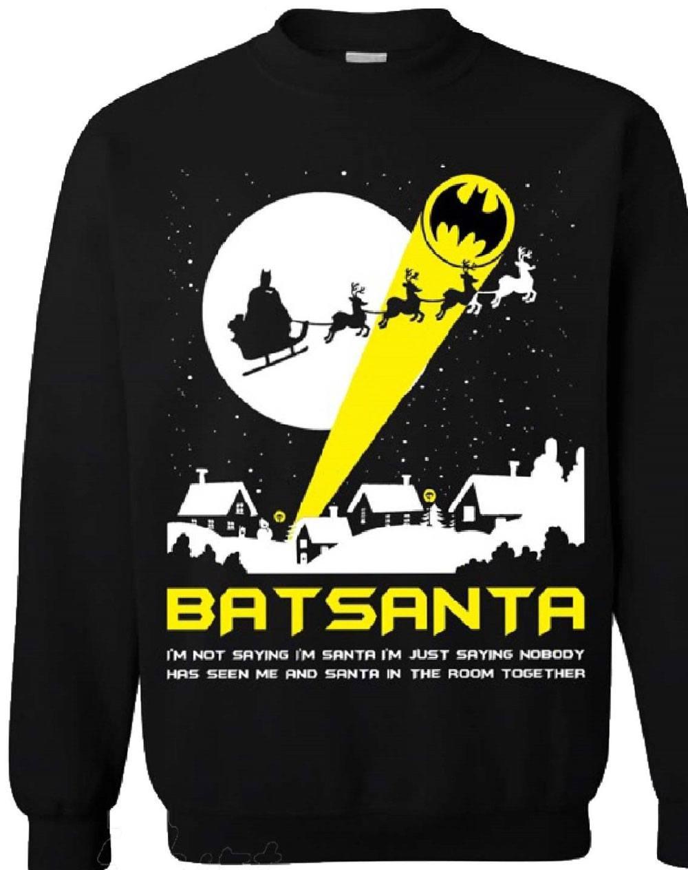 DC Comics Sweater Batman Batsanta Size M