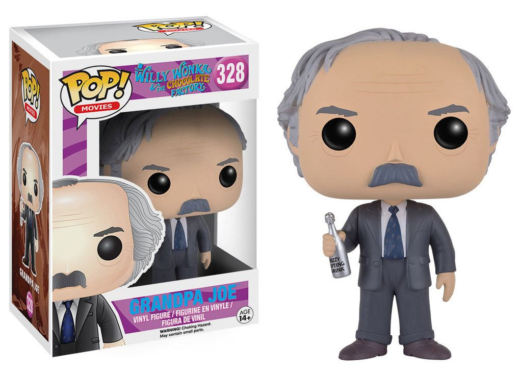 Charlie and the Chocolate POP! Movies Vinyl Figure Grandpa Joe 9 cm