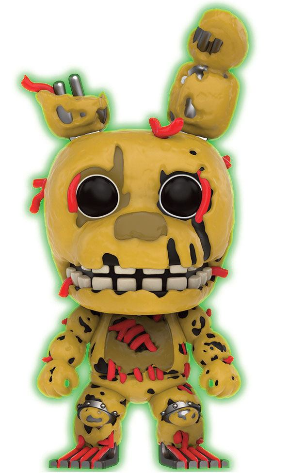 Five Nights at Freddy's POP! Games Vinyl Figure Springtrap GITD 9 cm