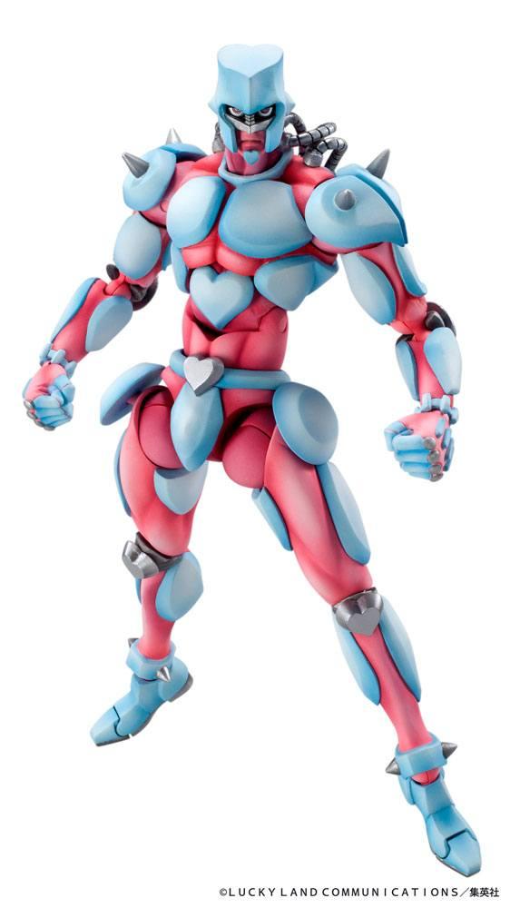 JoJo's Bizarre Adventure Super Action Action Figure Chozokado (Crazy Diamond) 16 cm