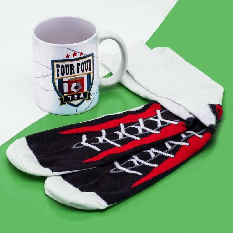Four Four Mug & Socks Set Tea