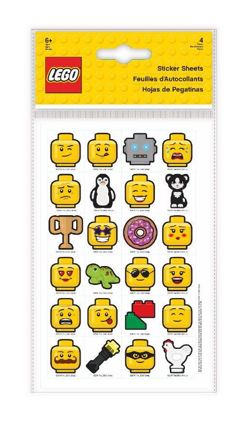 Lego Iconic Sticker Sheets