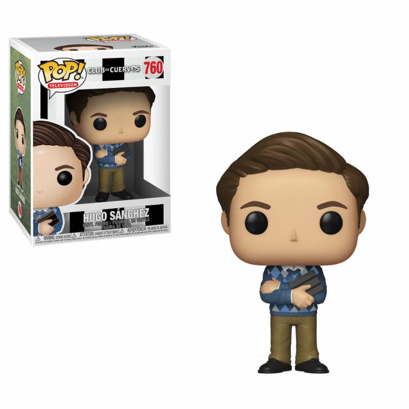 Club de Cuervos POP! TV Vinyl Figure Hugo Sanchez 9 cm
