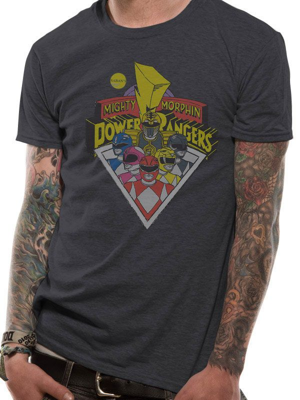 Power Rangers T-Shirt Group Size S