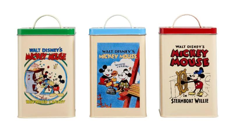 Disney Kitchen Storage Set Retro Posters