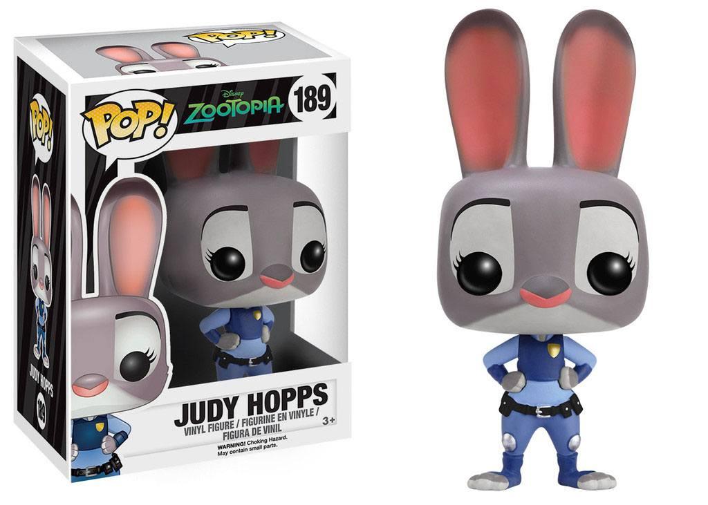 Zootopia / Zootropolis POP! Disney Vinyl Figure Judy Hopps 8 cm