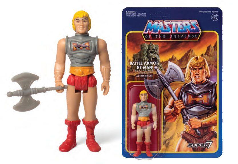 Masters of the Universe ReAction Action Figure Wave 3 Battle Armor He-Man 10 cm