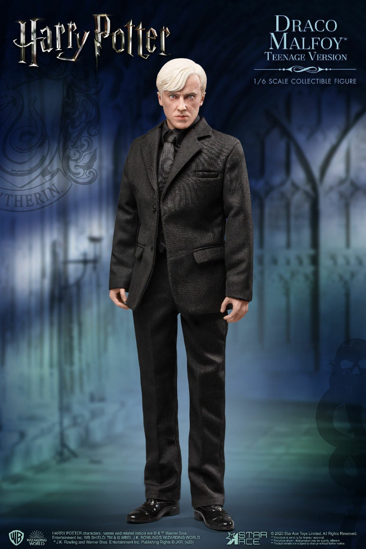 Harry Potter My Favourite Movie Action Figure 1/6 Draco Malfoy Teenager Suit Version 26 cm