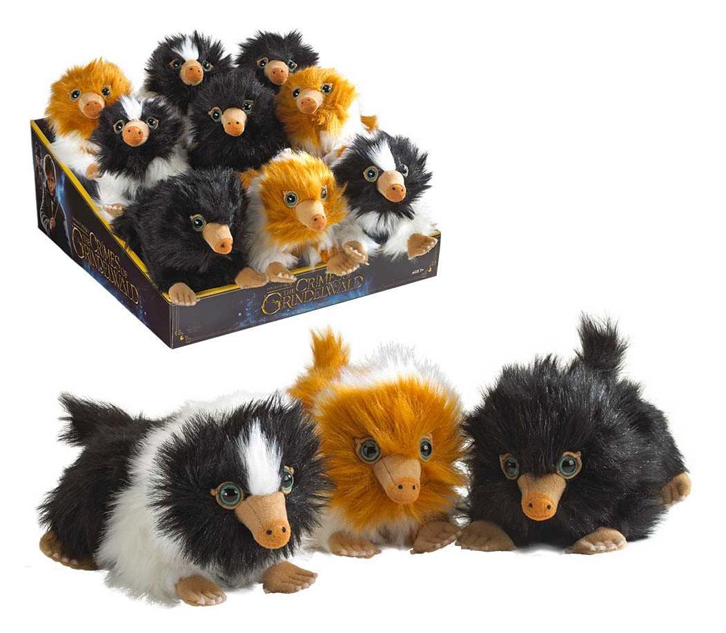 Fantastic Beasts 2 Plush Figures Baby Nifflers 15 cm Display (9)