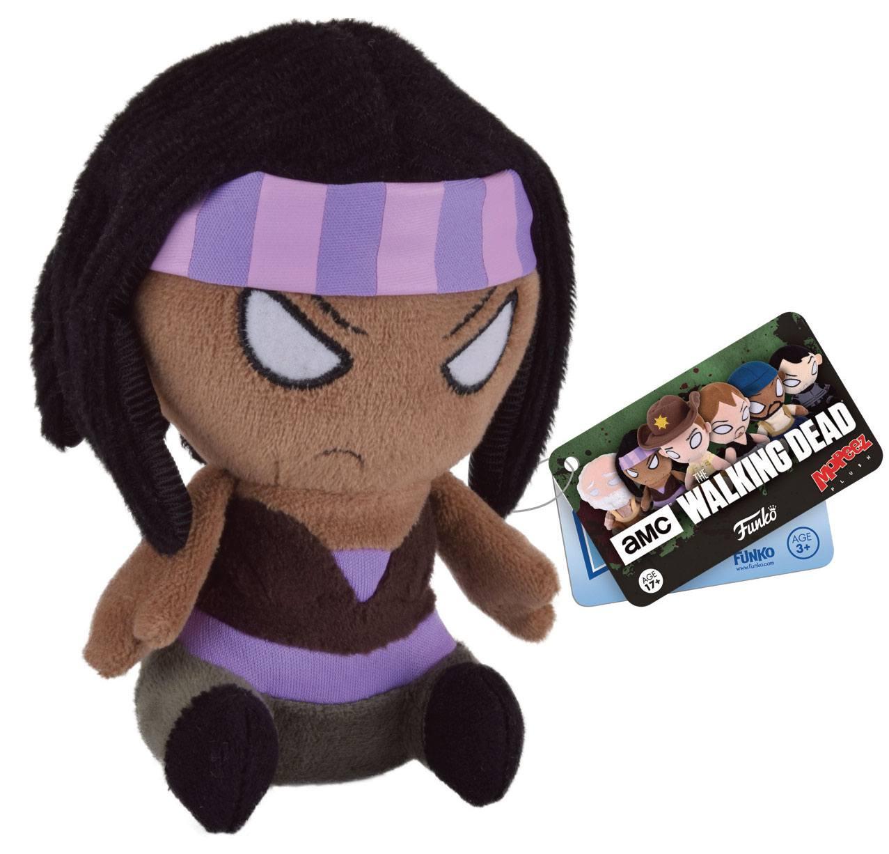 Walking Dead Mopeez Plush Figure Michonne 12 cm