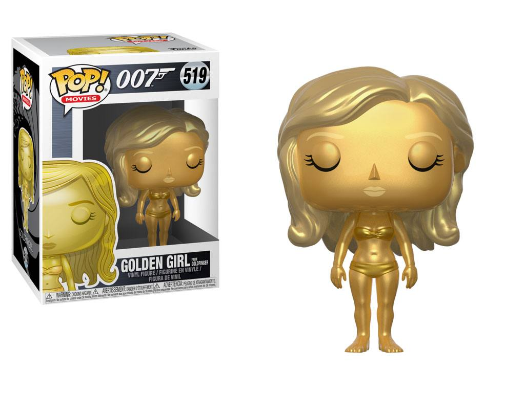 James Bond POP! Movies Vinyl Figure Golden Girl (Jill Masterson) 9 cm