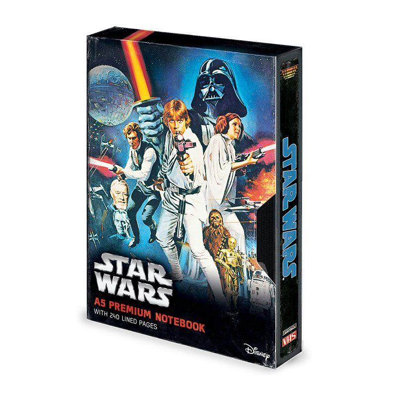 Star Wars Premium Notebook A5 A New Hope VHS