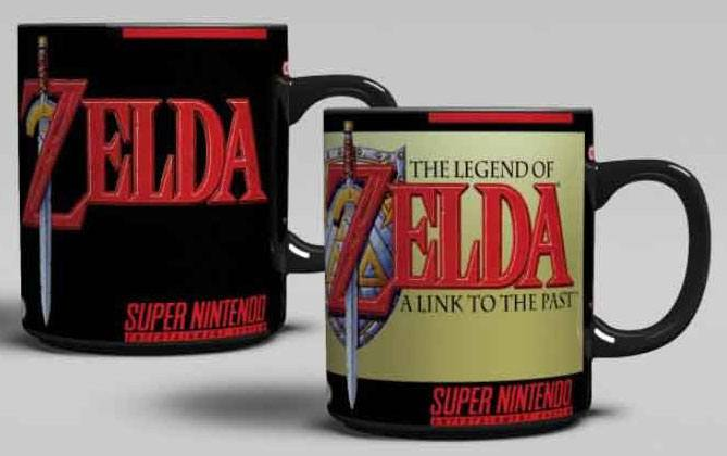 Super Nintendo Heat Change Mug Legend of Zelda