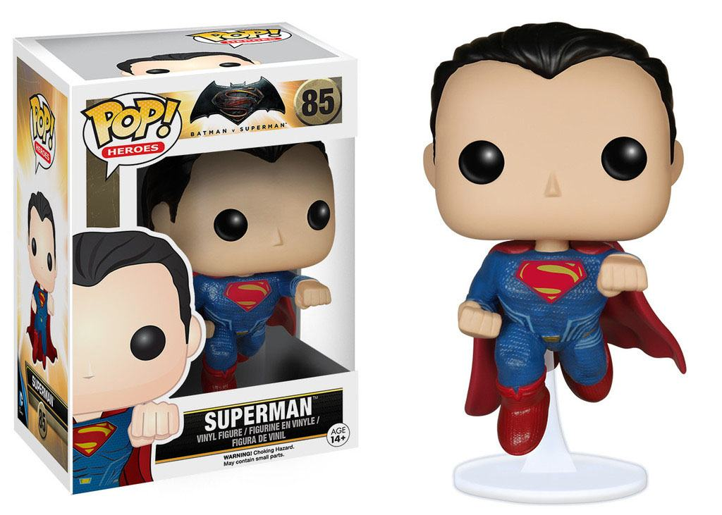 Batman v Superman POP! Heroes Vinyl Figure Superman 9 cm
