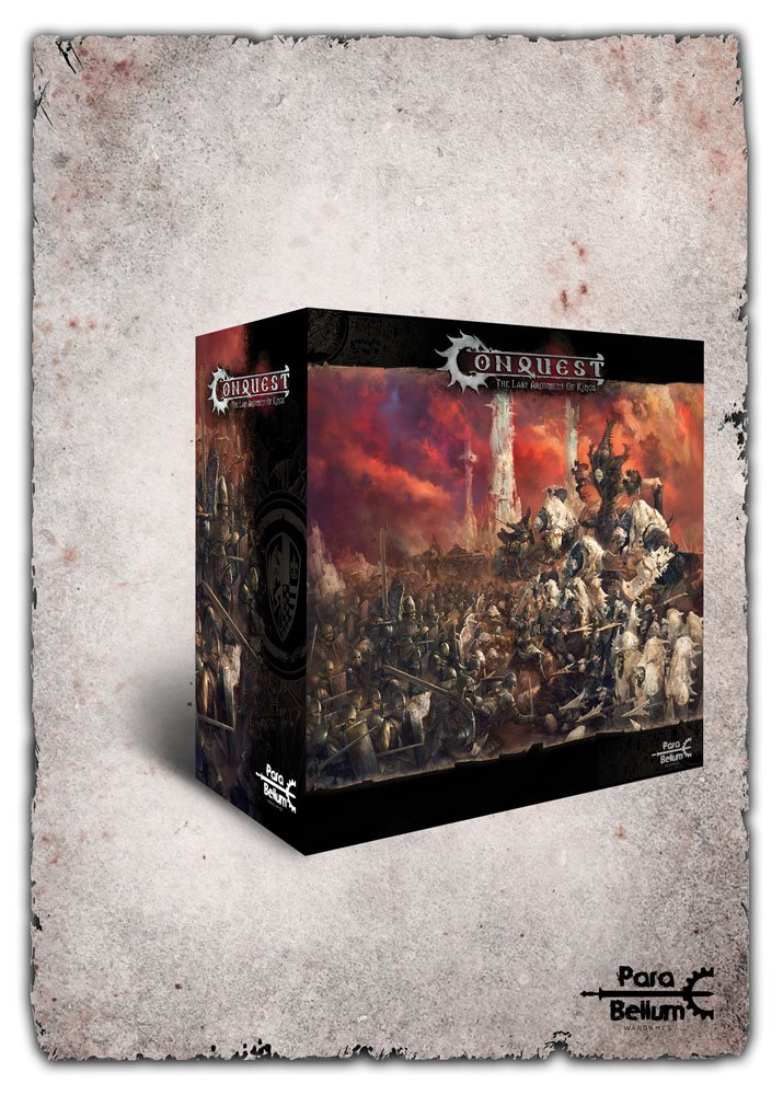Conquest: The Last Argument of Kings Tabletop Game Core Box Set *Spanish Version*
