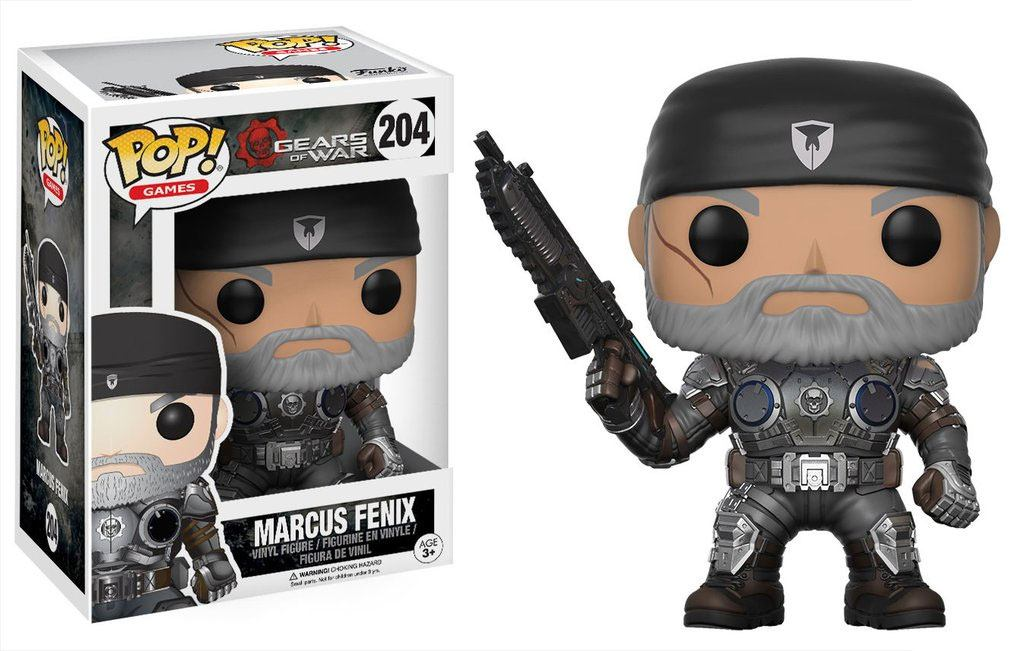 Gears of War POP! Games Vinyl Figure Marcus Fenix (Old Man) 9 cm