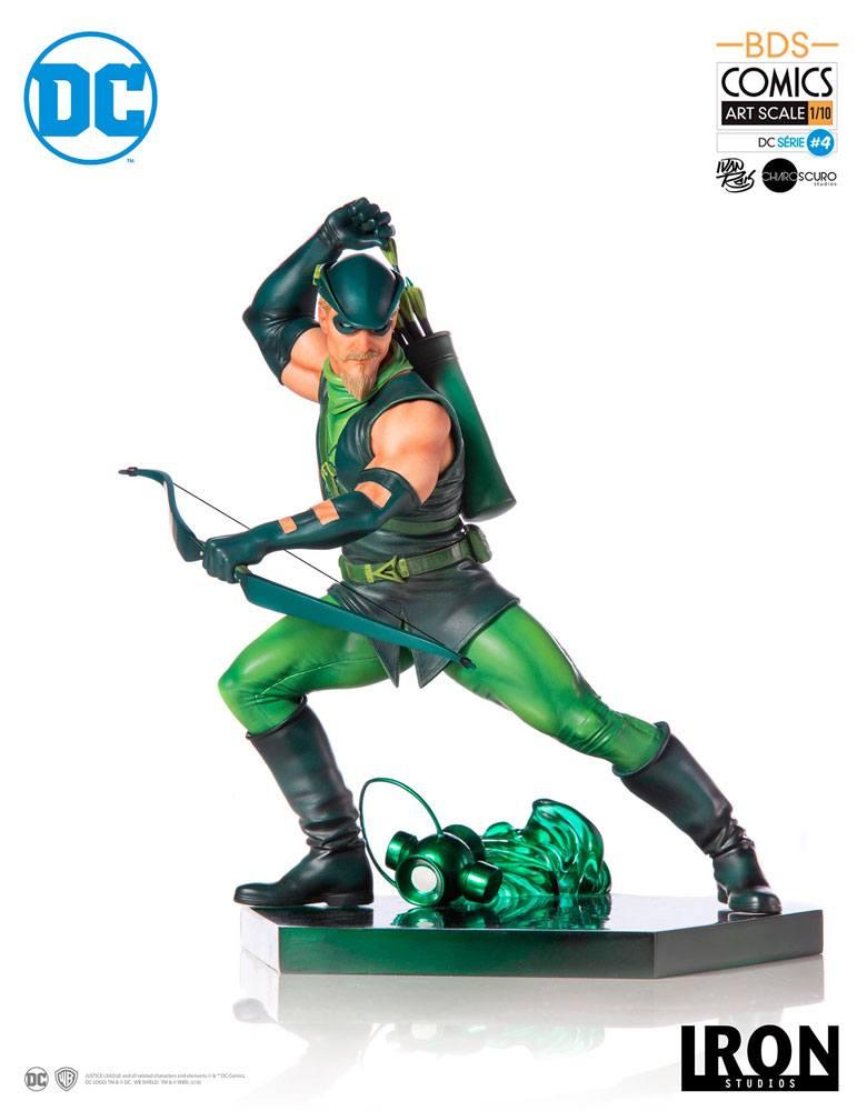 DC Comics BDS Art Scale Statue 1/10 Green Arrow by Ivan Reis 17 cm