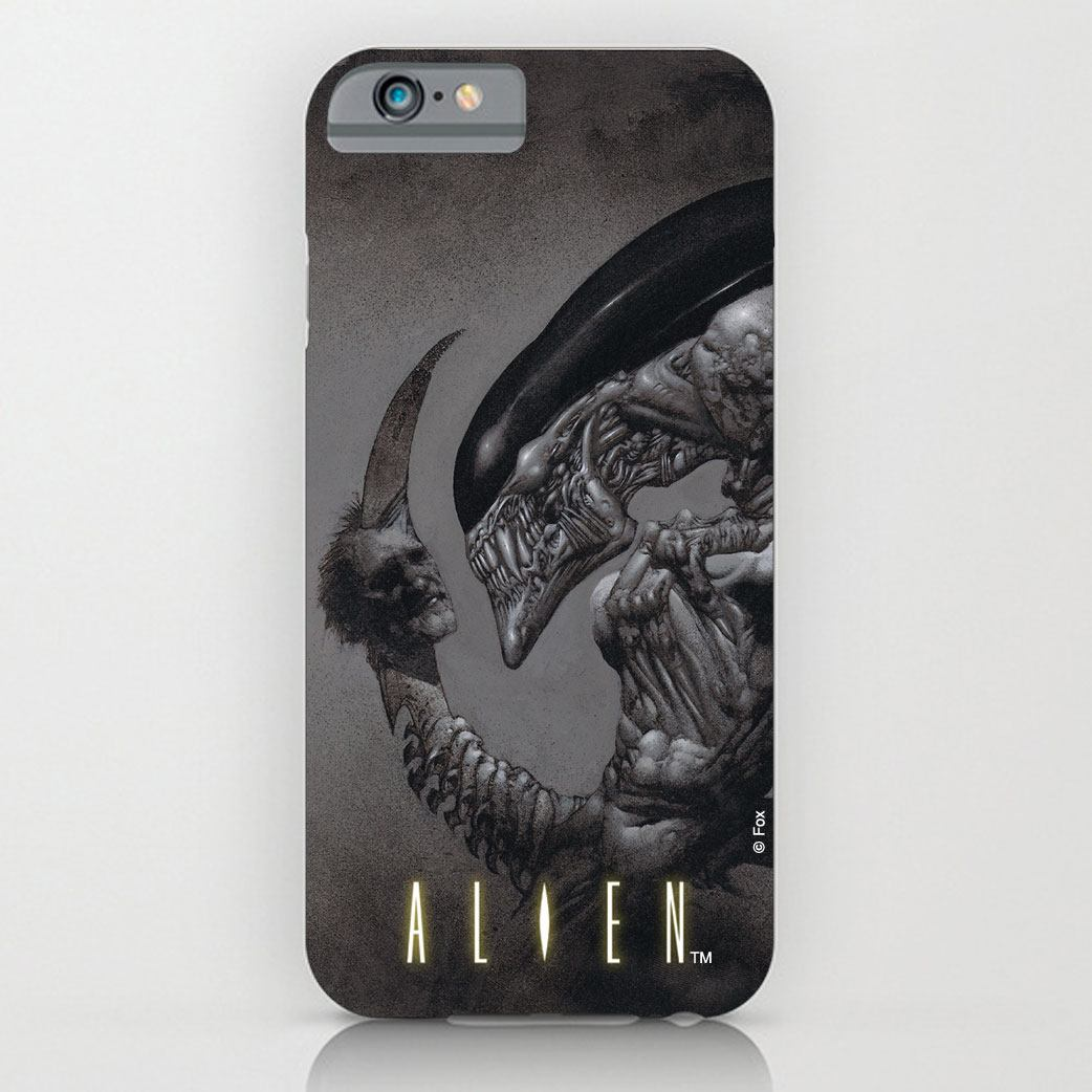 Alien iPhone 4 Case Dead Head