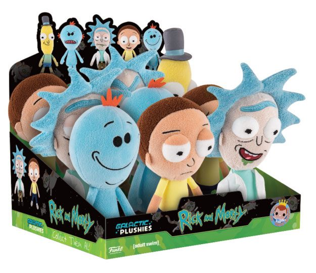 Rick and Morty Funko Plushies Plush Figure 18 - 20 cm Display (9)
