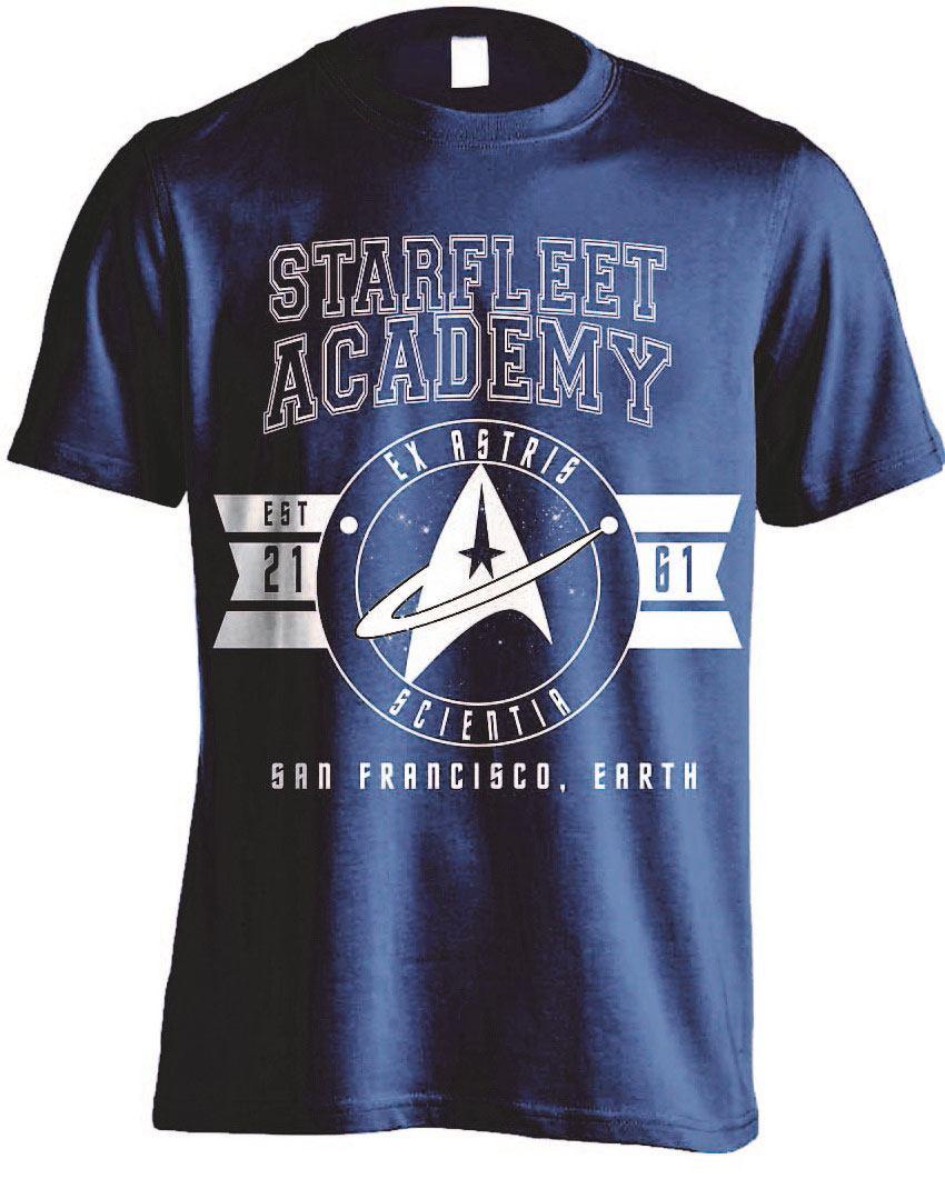 Star Trek T-Shirt Ex Astris Scientia Size XL
