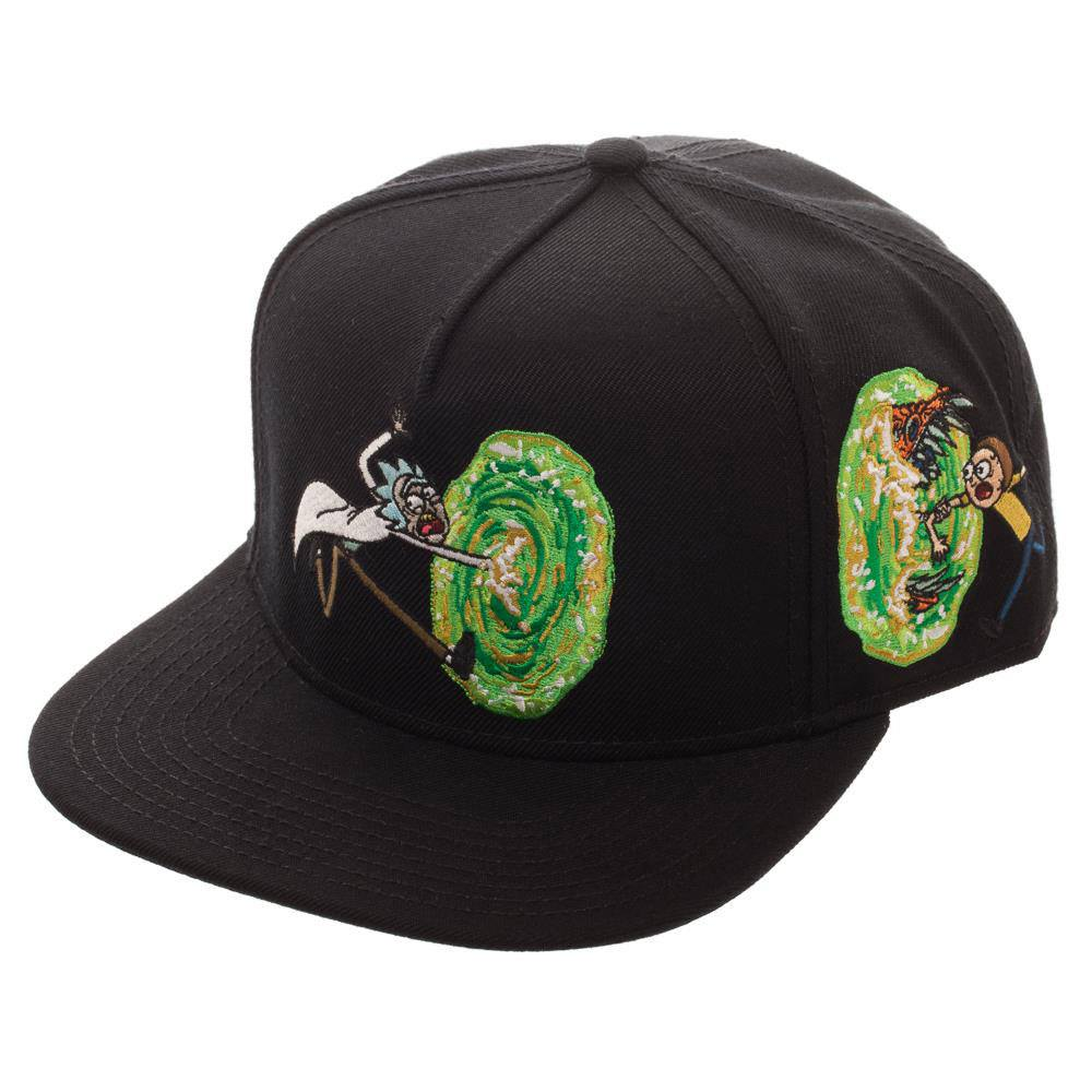 Rick & Morty Snap Back Cap Portal