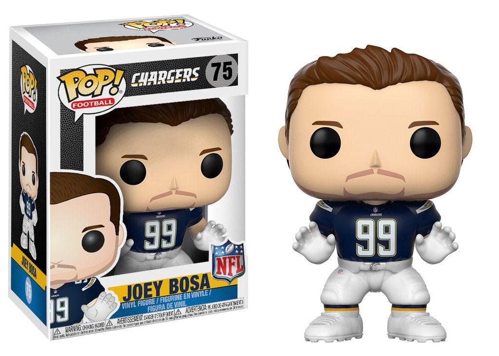 NFL POP! Football Vinyl Figure Joey Bosa (Los Angeles Chargers) 9 cm