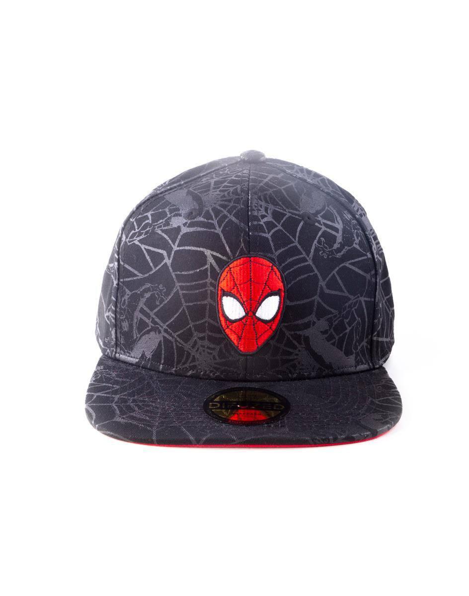 Spider-Man Snapback Cap Head