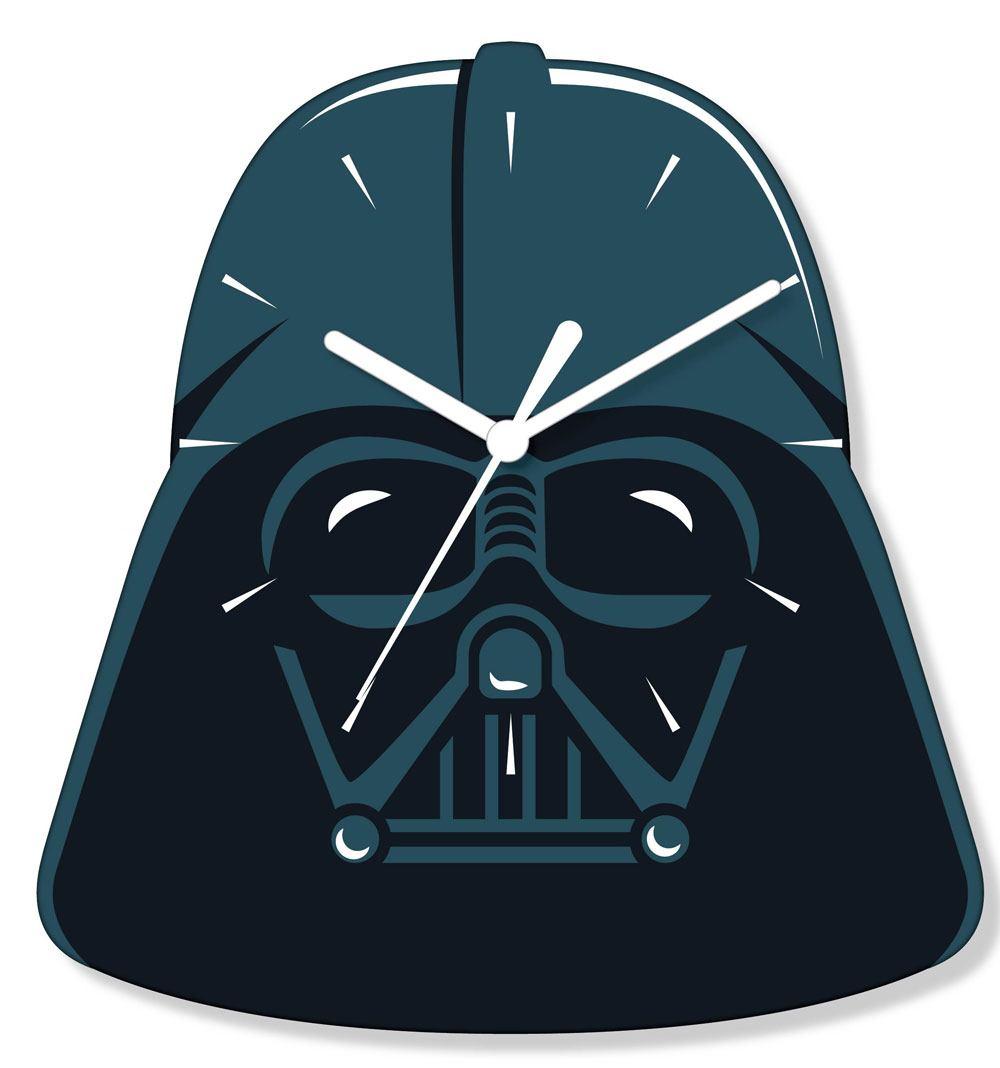 Star Wars Wall Clock Darth Vader --- DAMAGED PACKAGING