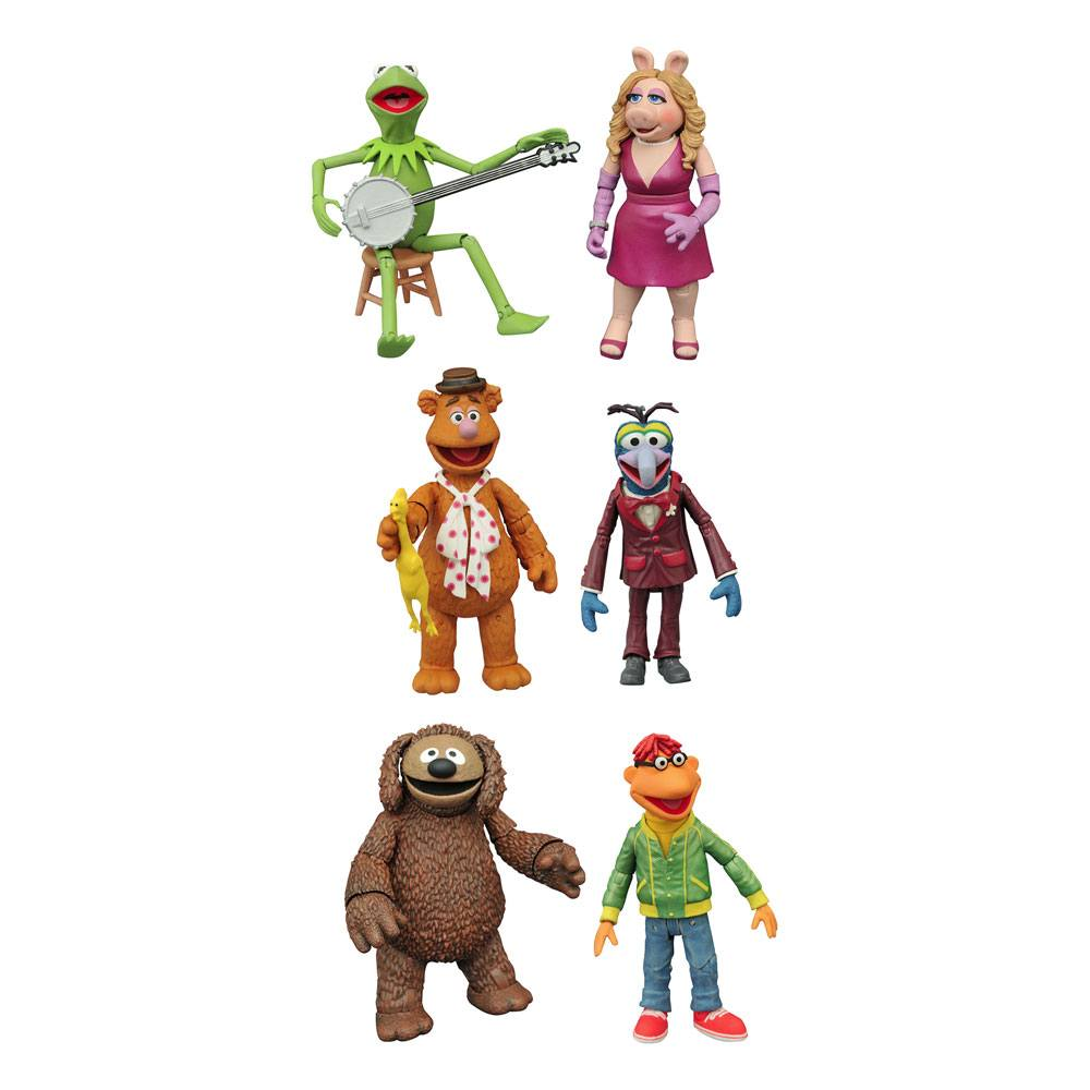 The Muppets Select Action Figures 13 cm 2-Packs Best Of Series 1 Assortment (6)