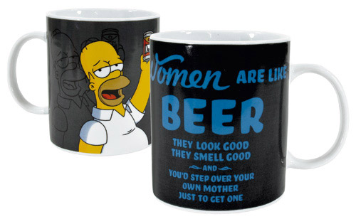 Simpsons Mega Mug Women Are Like Beer