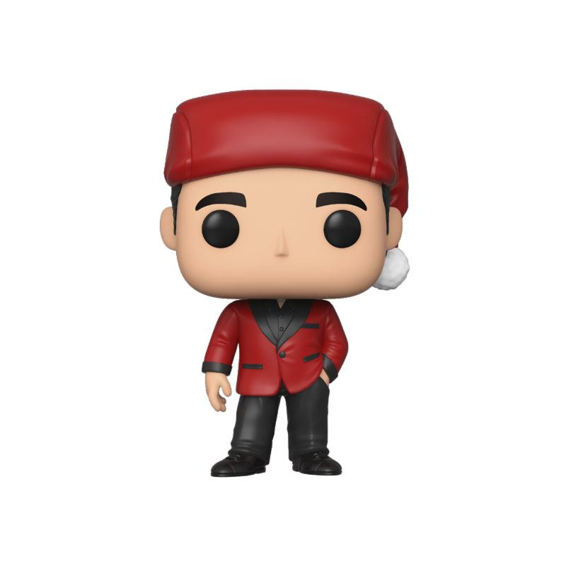 The Office POP! TV Vinyl Figure Michael as Santa Bond 9 cm