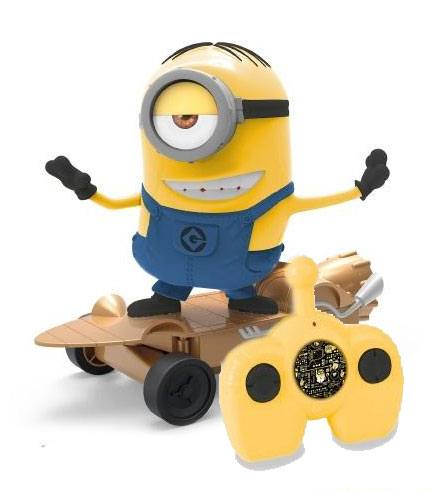 Despicable Me 3 RC Vehicle Skating Stuart 25 cm