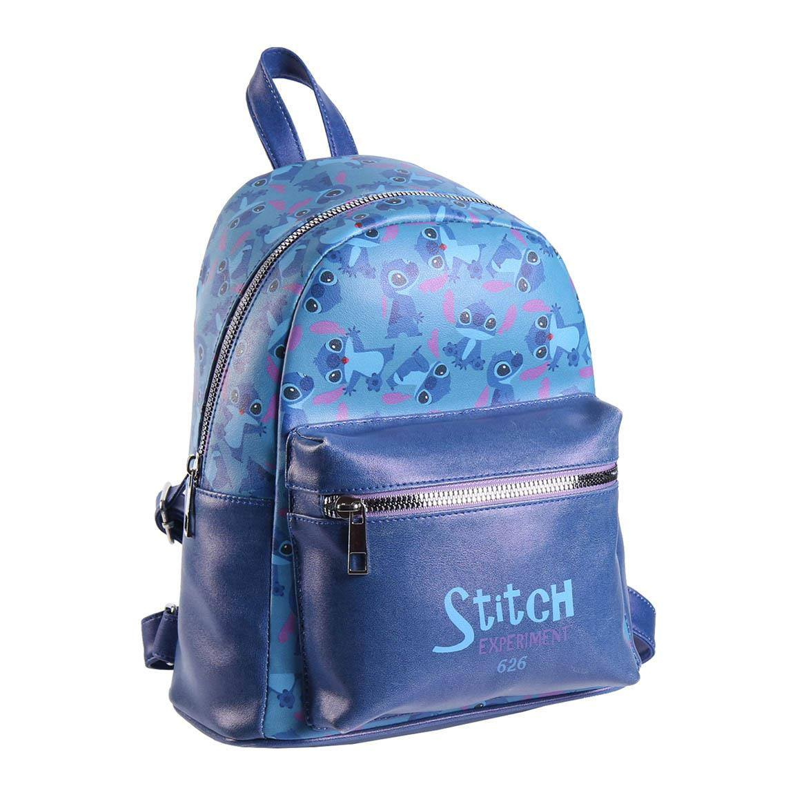 Lilo & Stitch Faux Leather Backpack Experiment 626